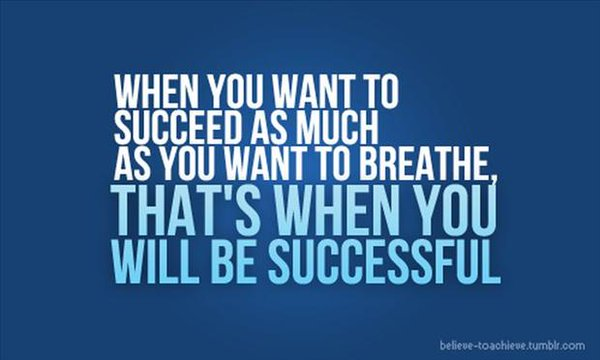 hunger for success